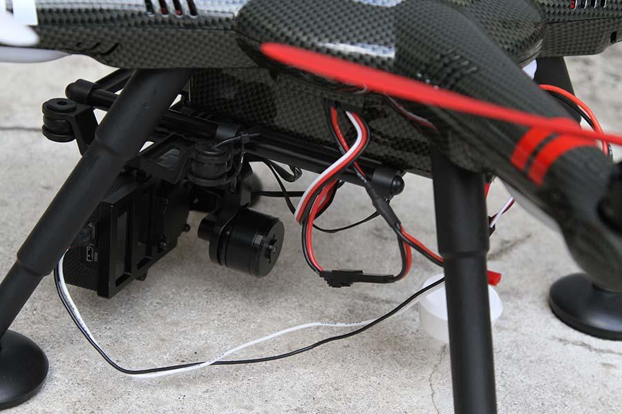 XK Detect X380 - Gimbal e telecamera