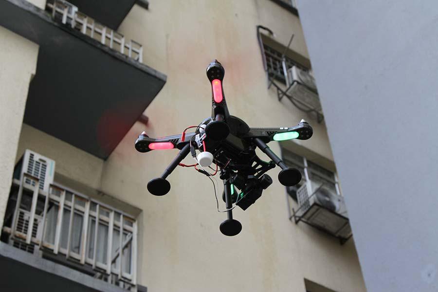 XK Detect X380 - Ottima stabilità aerea