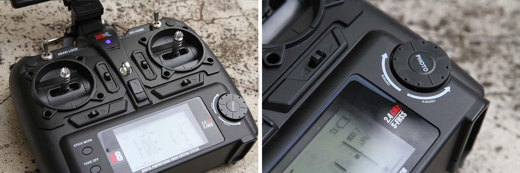 XK Detect X380 - Radiocomando