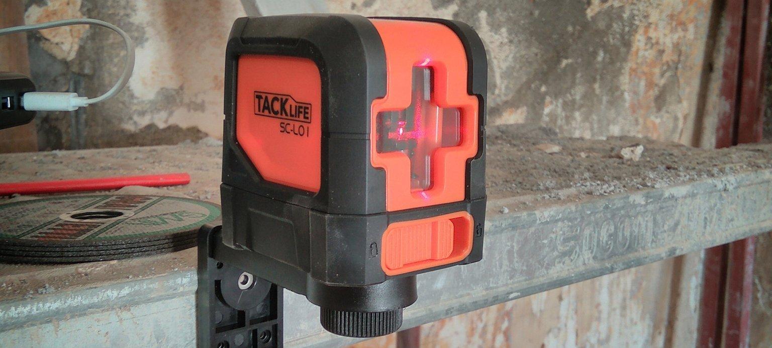 Tacklife-SC-L01 Livella laser - Recensione