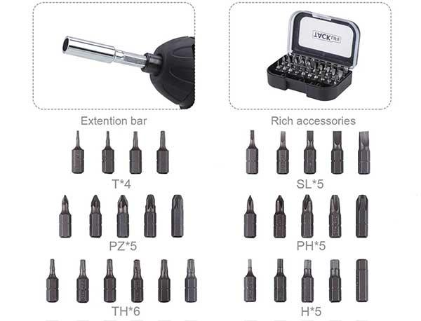 Tacklife-SDP50DC accessori