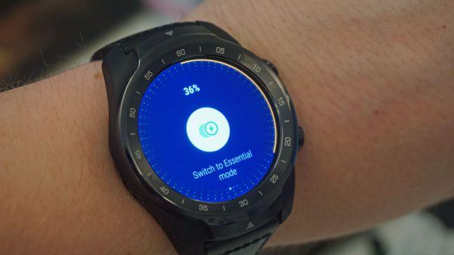 Il passaggio di Ticwatch Pro in modalità Essenziale avviene tramite un'app