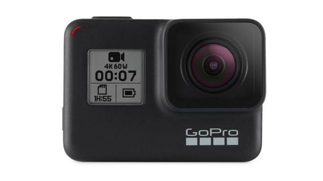 GoPro Hero 7 Black vista frontale