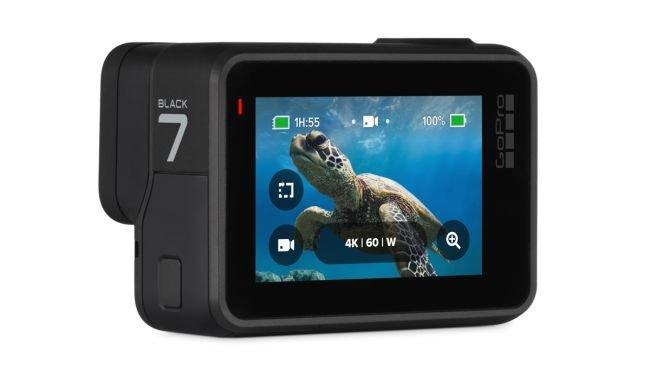 GoPro Hero 7 Black schermo lcd