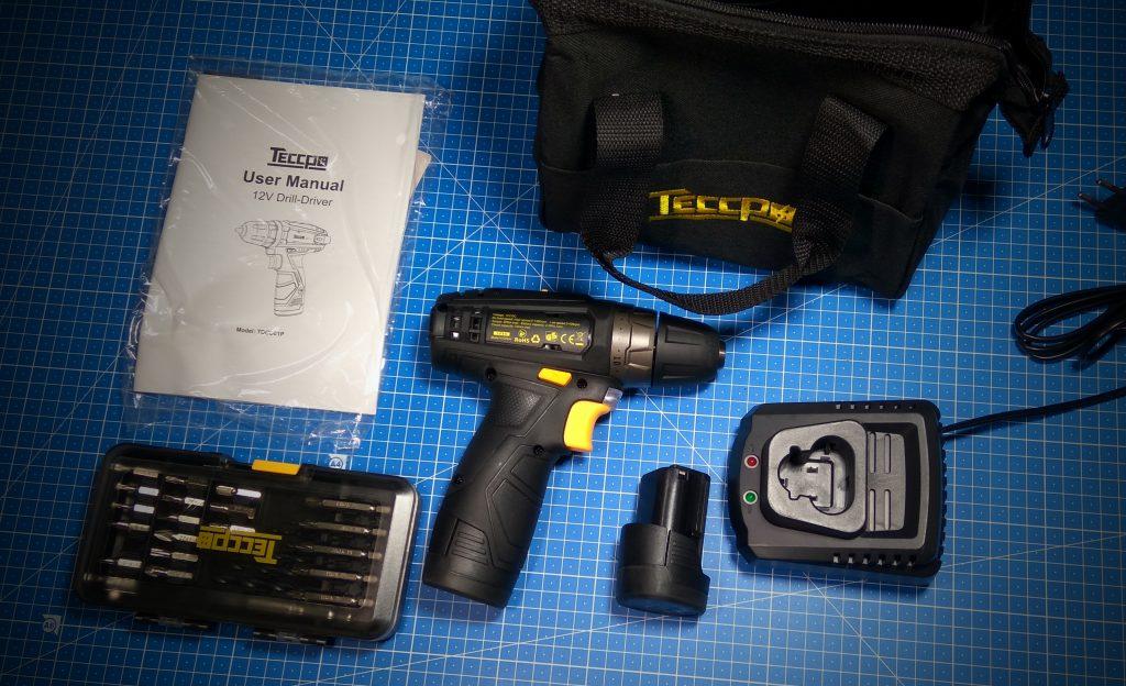TECCPO TDCK01P – Trapano a batteria 12V