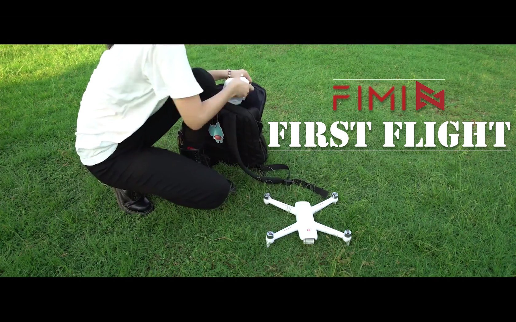 Drone Xiaomi FIMI A3 First Flight video
