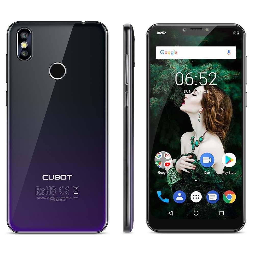 Cubot P20 Smartphone 4G, 6.18 Pollici Android 8.0 Telefono, Notch Schermo,Dual Sim, Fingerprint Smartphone,MT6750T 1.5GHz Octa Core, 4GB RAM 64GB ROMCubot P20 Smartphone 4G, 6.18 Pollici Android 8.0 Telefono, Notch Schermo,Dual Sim, Fingerprint Smartphone,MT6750T 1.5GHz Octa Core, 4GB RAM 64GB ROM