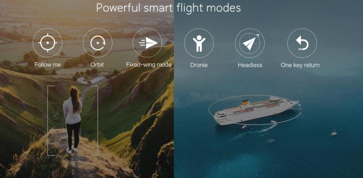 Ci aspettiamo di vedere le stesse modalità di volo di FiMi A3 Drone e forse alcune funzionalità più avanzate nel drone pieghevole 4K