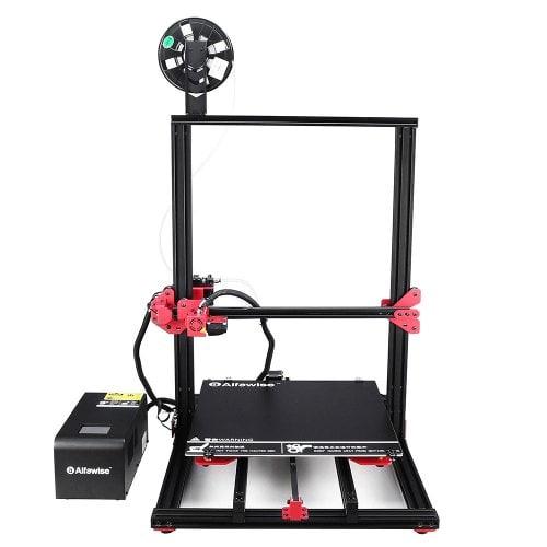 Alfawise U20Plus 2.8 pollici Stampante 3D di Grandi Dimensioni Fai-da-Te con Schermo Tattile - NERO SPINA US U20PLUS