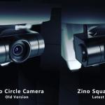 Hubsan Zino square camera - circle camera