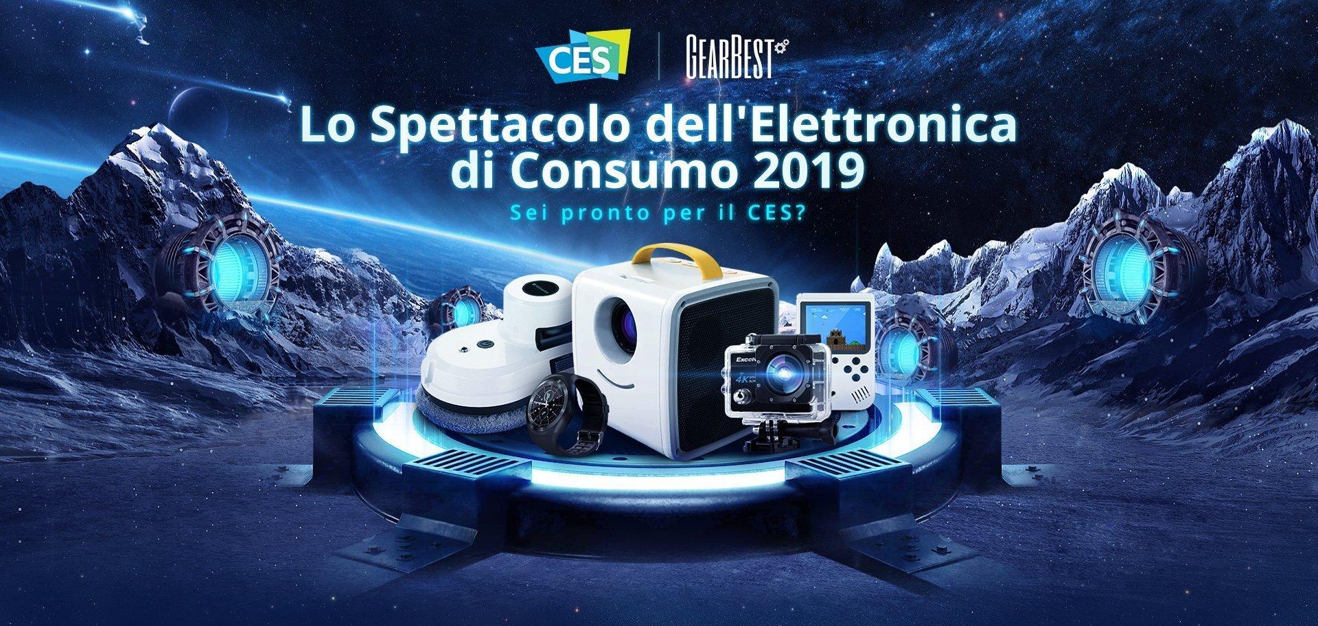 CES 2019 - Offerte elettronica di consumo