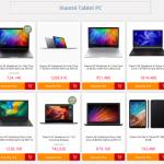 Tablet e notebook xiaomi in offerta su Gearbest