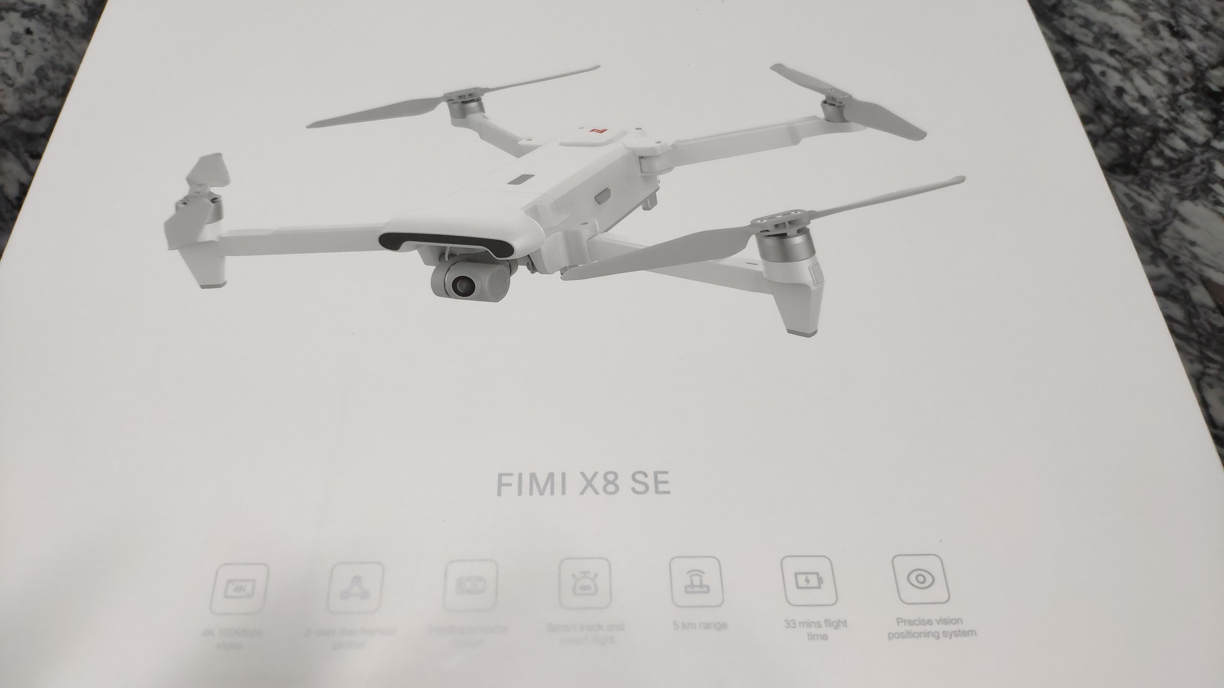 FIMI X8 SE in consegna