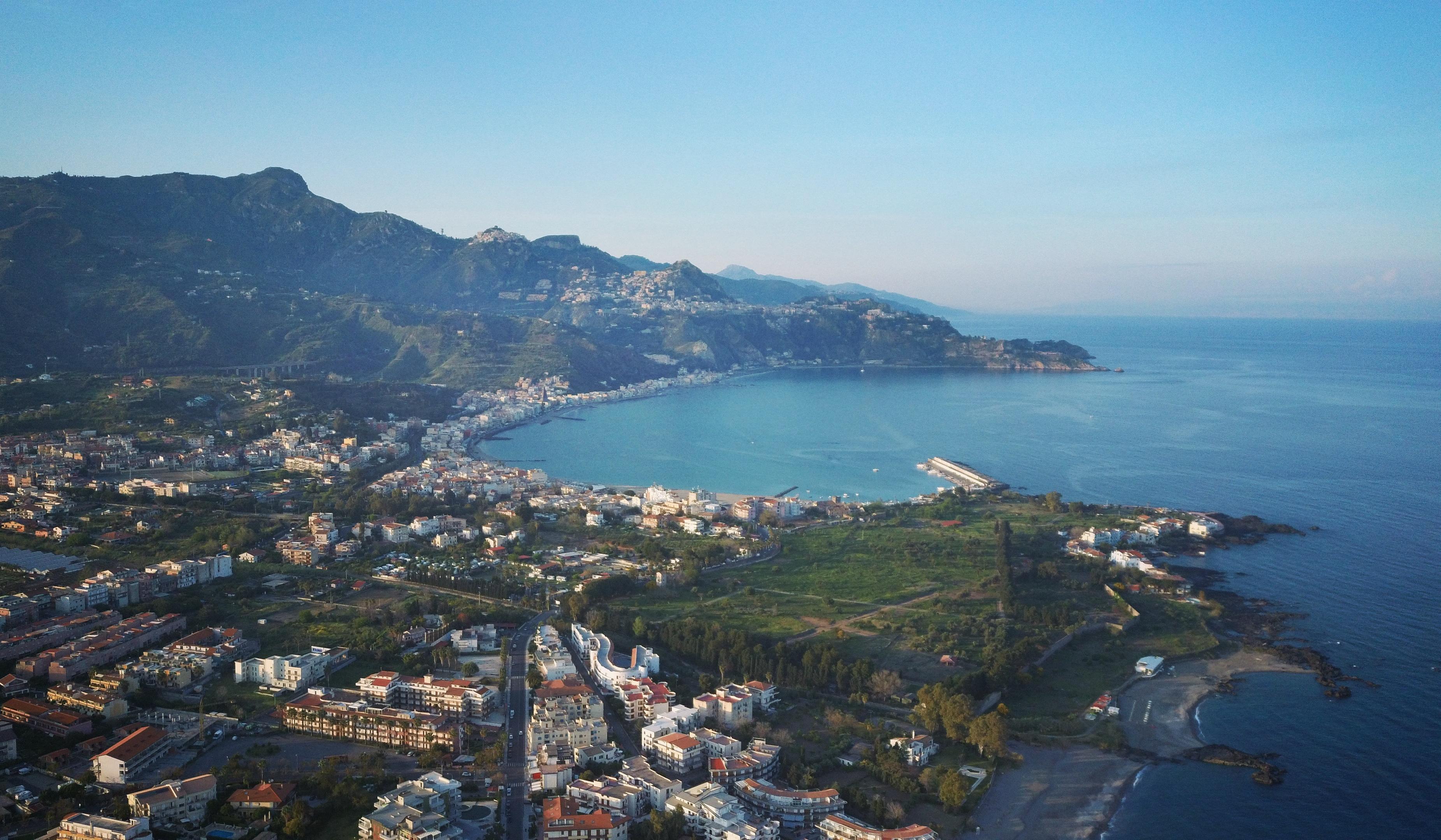 Xiaomi FIMI X8 SE - Foto panoramica sul mare di Sicilia