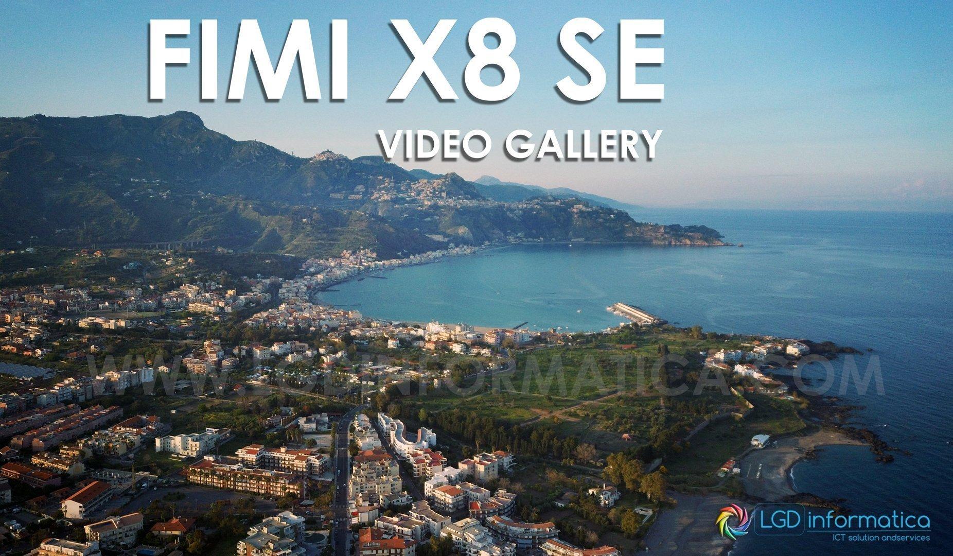 Xiaomi FIMI X8 SE video gallery Foto panoramica sul mare di Sicilia