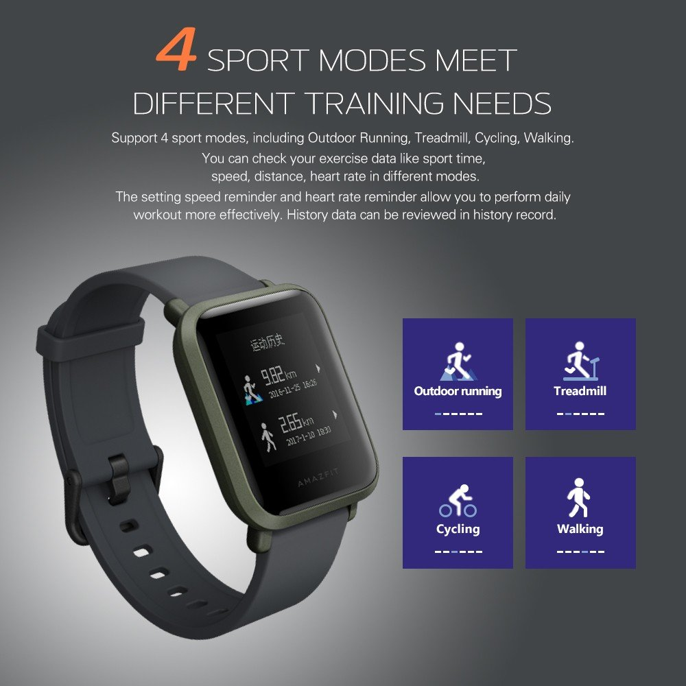 Xiaomi Huami Amazfit Bip GPS Smart Sport Watch