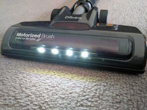 Dibea D18 - Fari LED