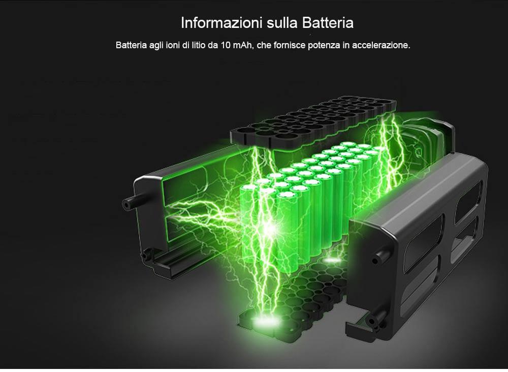 Samebike 20LVXD30 batteria Removibile agli ioni di litio da 10.000mAh