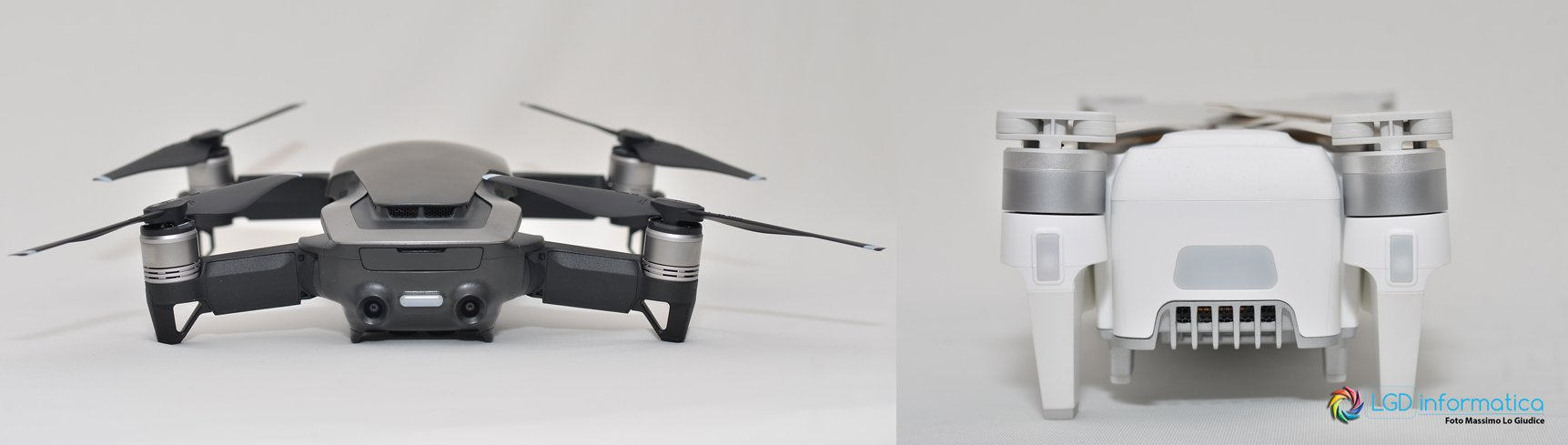 DJI Mavic Air vs Xiaomi FIMI X8 SE - Sensori anti collisione posteriori