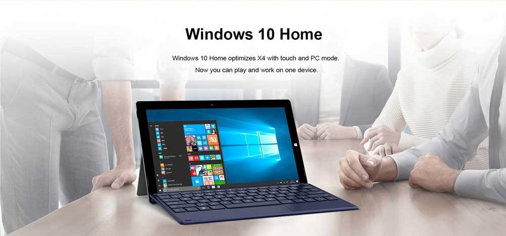 Teclast X4 sistema operativo