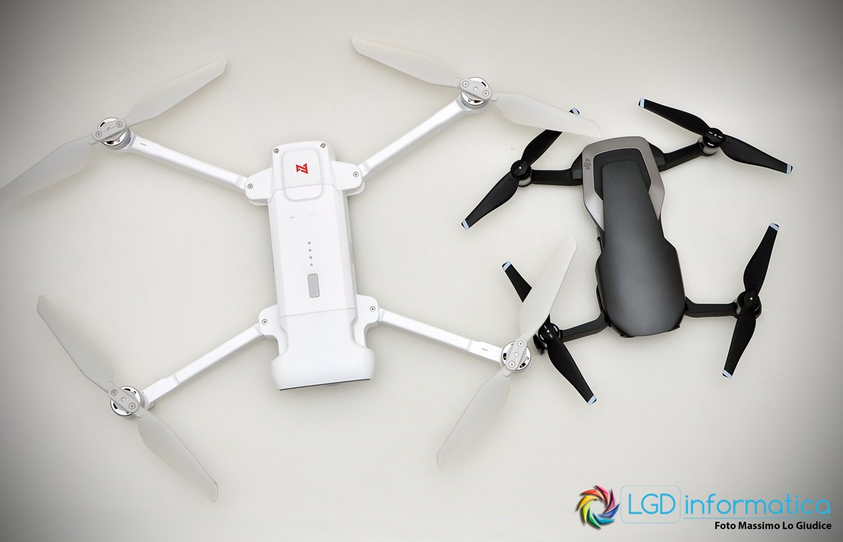 Xiaomi Fimi X8 SE vs DJI Mavic Air - Design