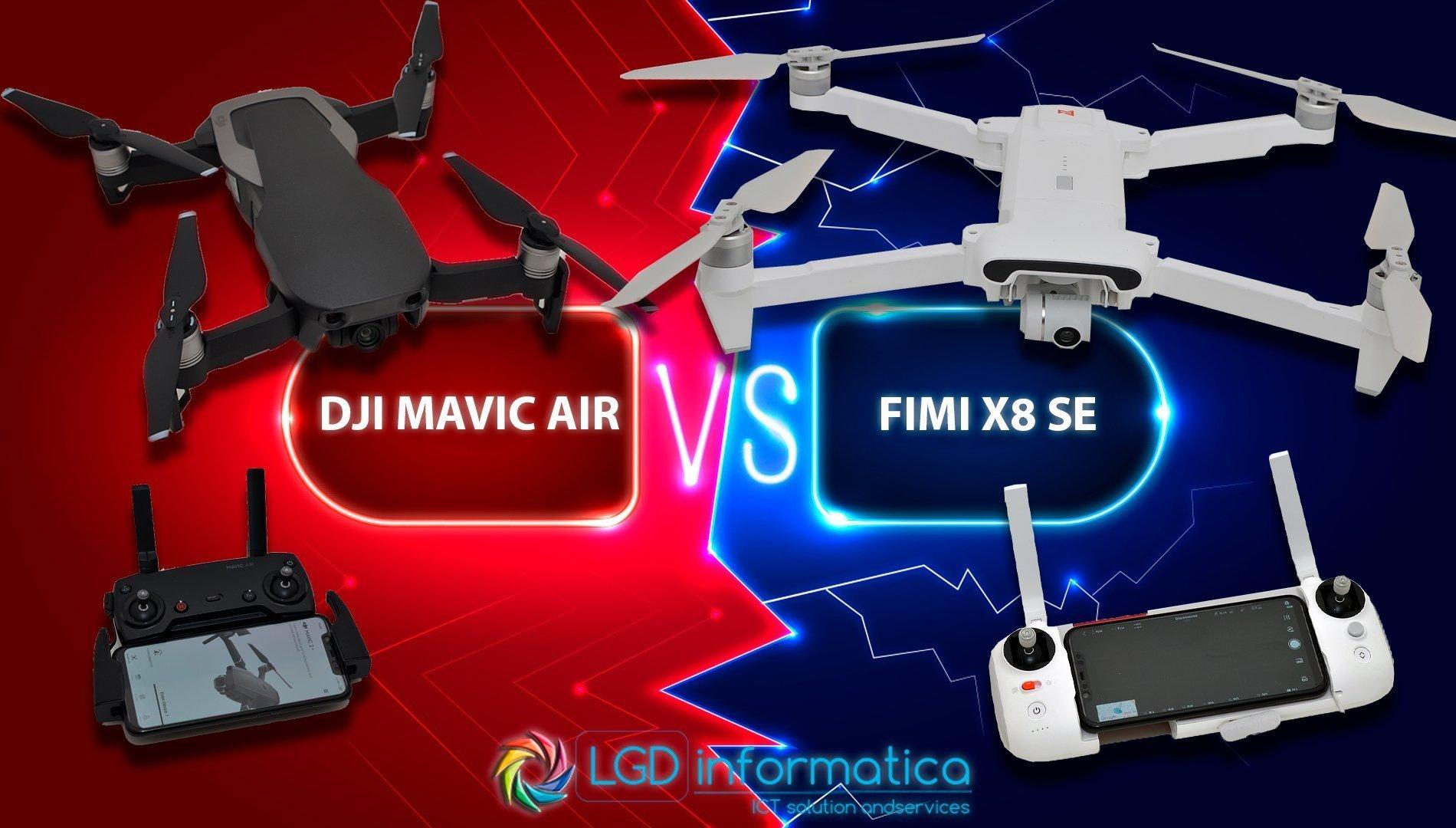 Xiaomi Fimi X8 SE vs DJI Mavic Air
