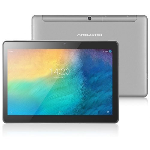 Teclast M20 4G Tablet - Grigio Scuro 275404401 10.1 pollici MT6797 (X23) Android 8.0
