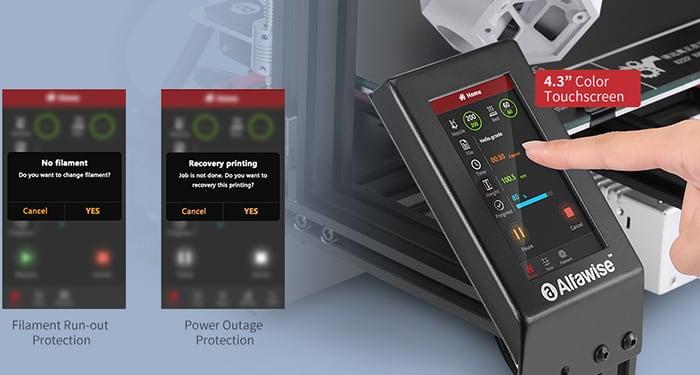 Alfawise U30 Pro . Marlin Firmware