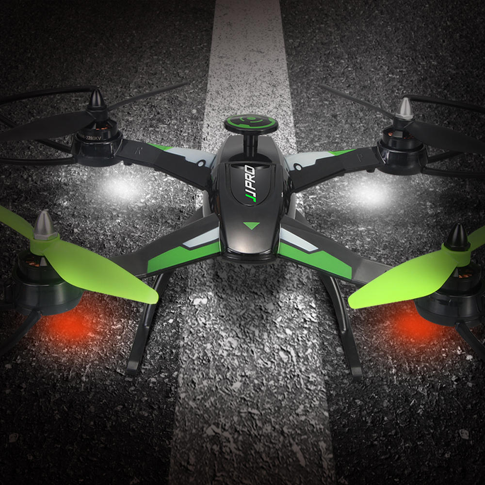 JJRC X1 With Brushless Motor 2.4G 4CH 6-Axis RC Drone Quadcopter RTF - Green Mode 2 (Left Hand Throttle)