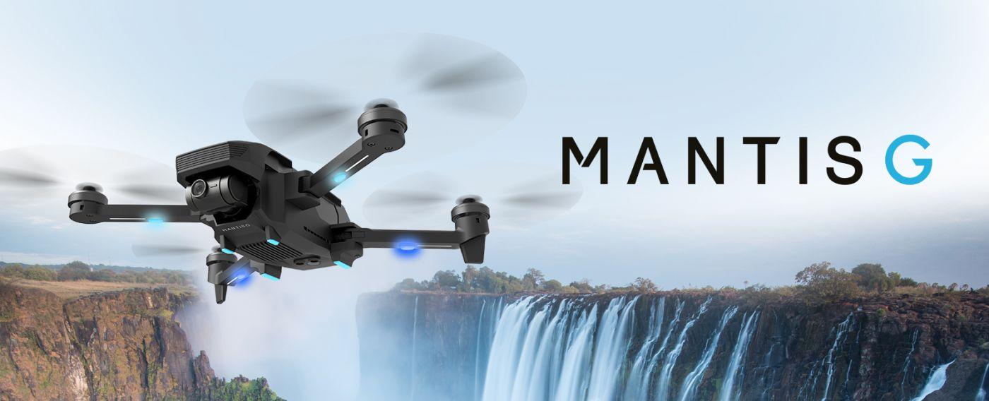 YUNEEC MANTIS G Drone pieghevole con stabilizzazione del gimbal
