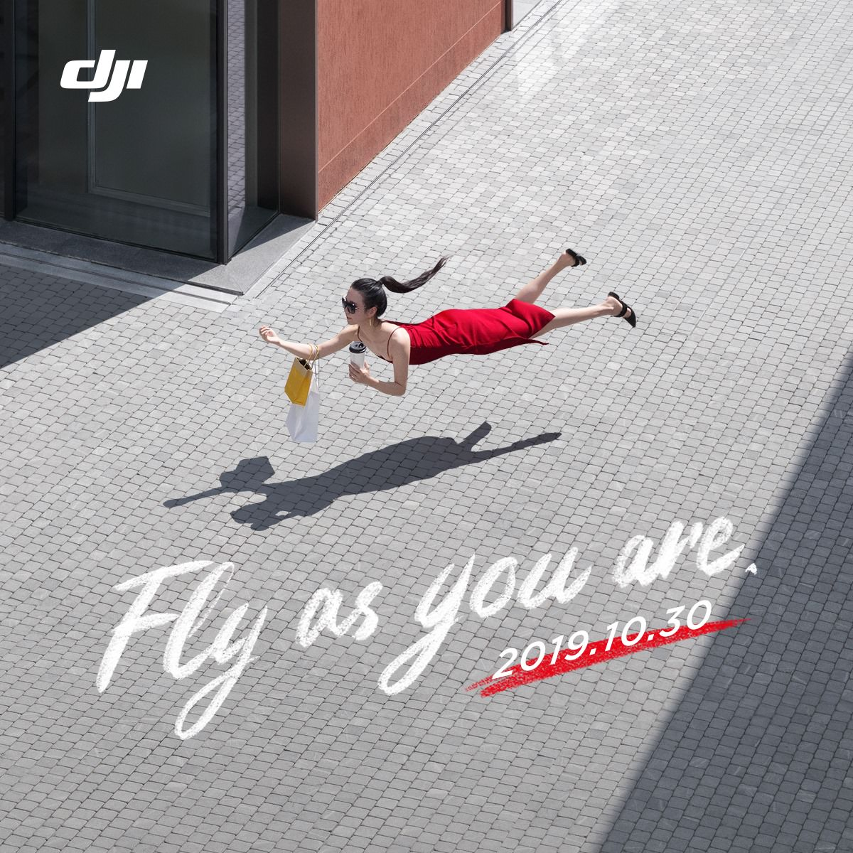 DJI fly as you are - appuntamento al 30 Ottobre per la presentazione del nuovo drone DJI