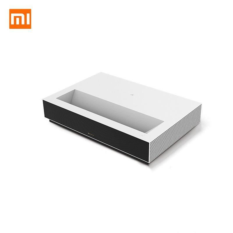 Fengmi 4K Cinema Laser proiettore 2500 ANSI Lumen 150 pollici ALPD 4K 3D BT 4.0 MIUI TV Xiaomi proiettore - Bianco