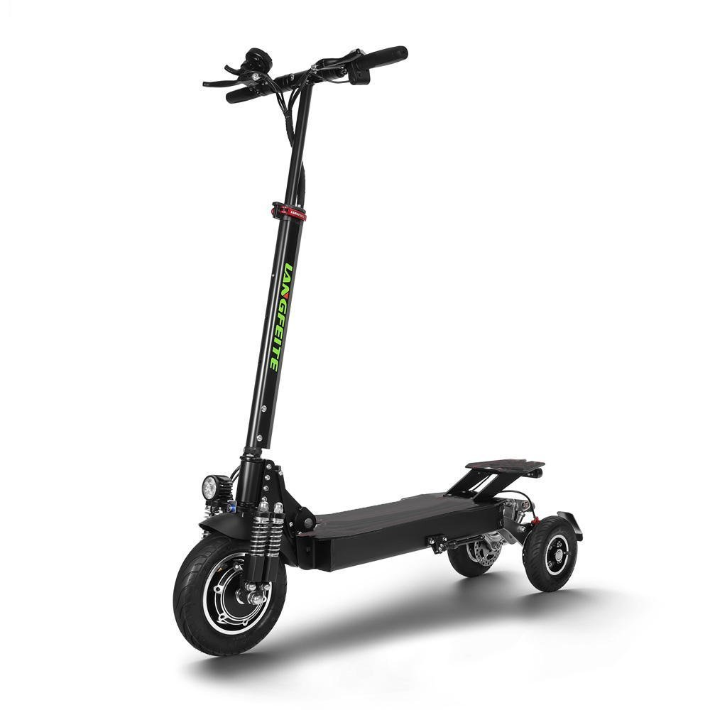 LANGFEITE L11 20.8Ah 36V 500W Folding Electric Scooter 40km/h Top Speed 55km Mileage Range Max. Load 150g Two Wheels Electric Scooters
