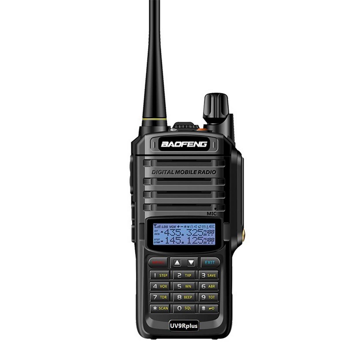 Baofeng UV-9R Plus 8W VHF UHF Walkie Talkie versione aggiornata