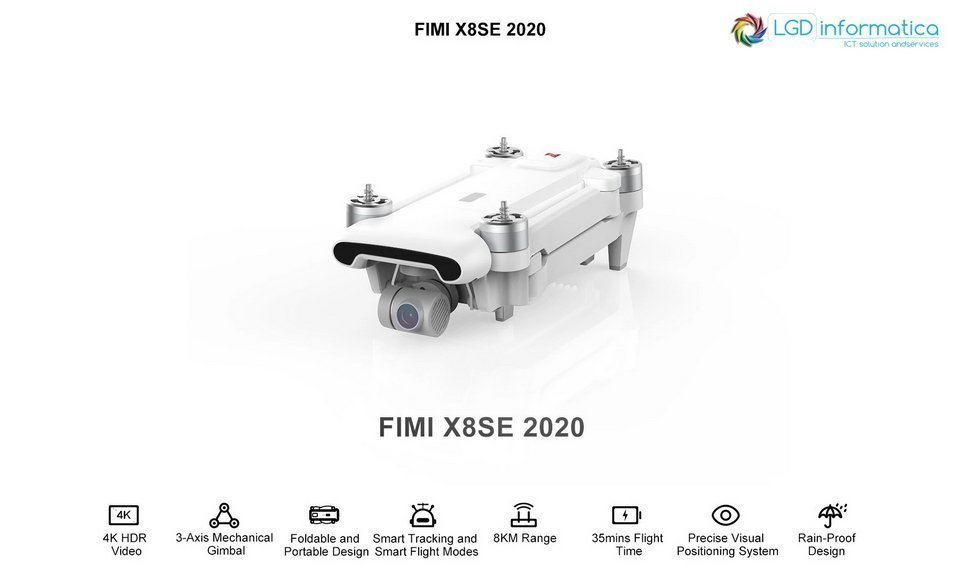 Fimi X8 SE 2020 IN OFFERTA SU ALIEXPRESS