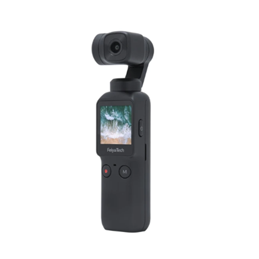 Feiyu Pocket camera 4K su GIMBAL TASCABILE 3 ASSI BRUSHLESS + 3 ASSI DIGITALE