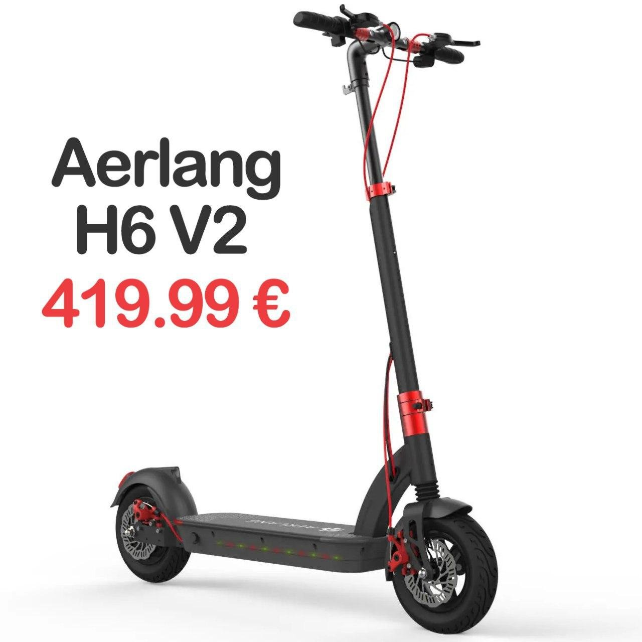 Aerlang H6 V2 500W in offerta a 408 euro