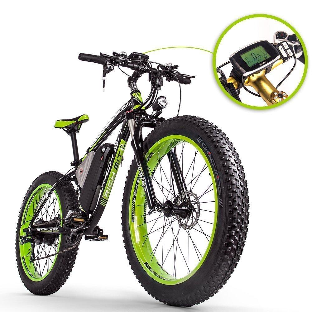 RICH BIT TOP-022 26'' 48V 17Ah 1000W Electric Mountain Bike recensione