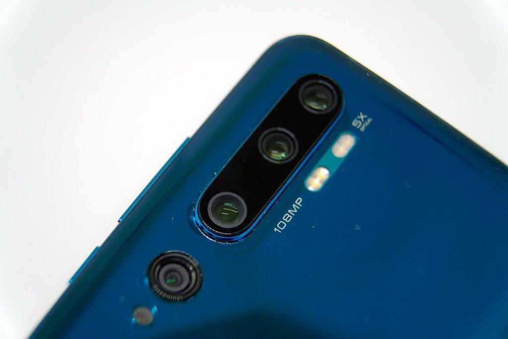 Xiaomi Mi Note 10 Fotocamere