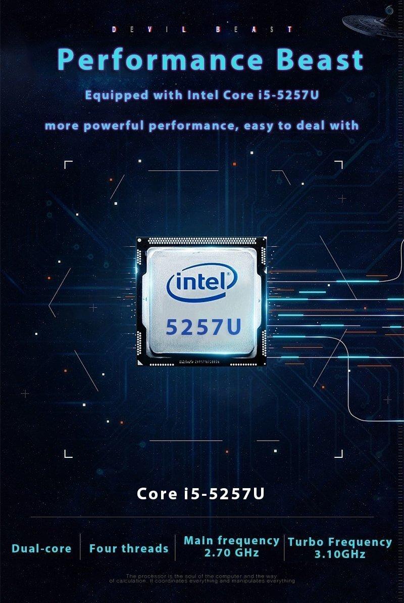 KUU k1 - CPU INTEL i5