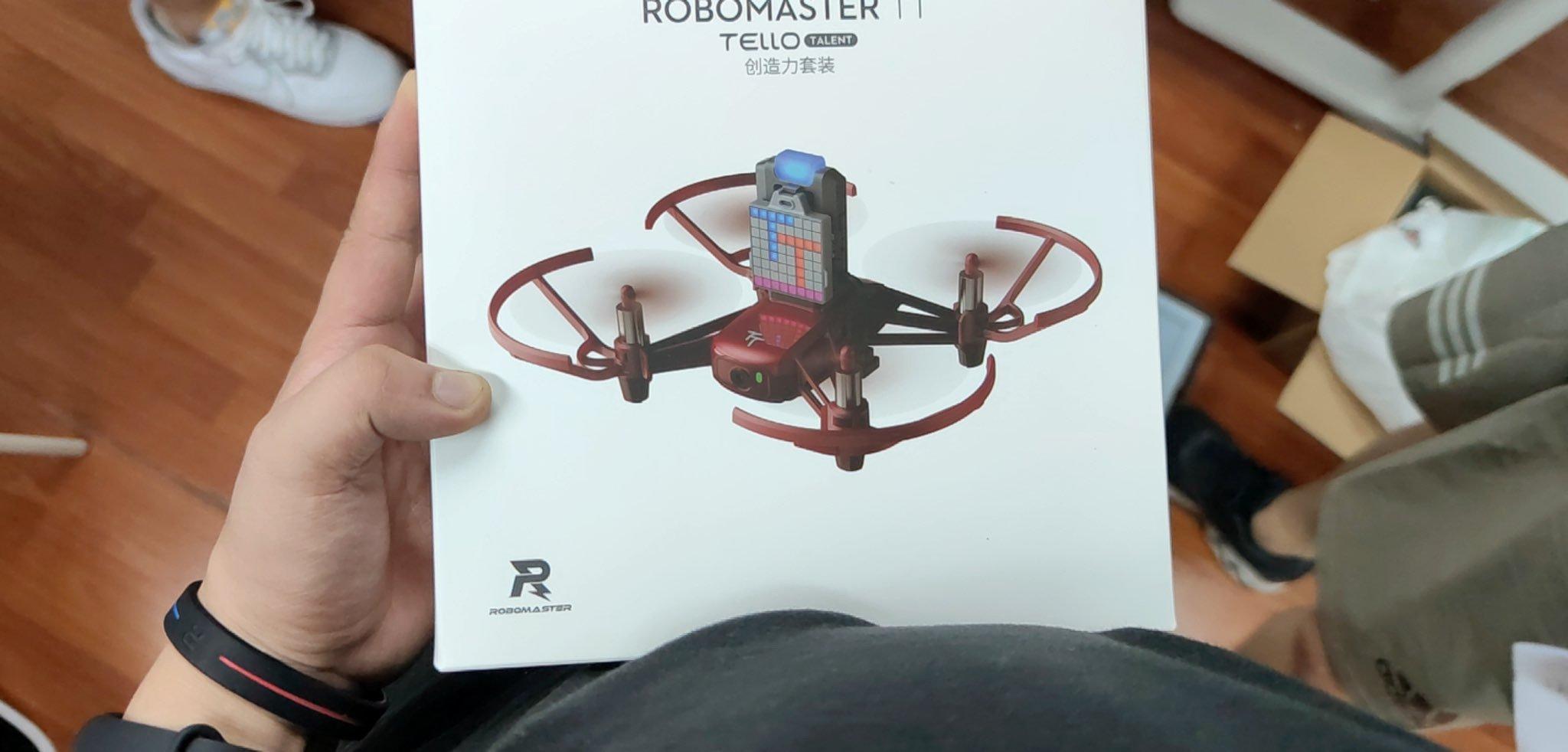DJI Tello robomaster version