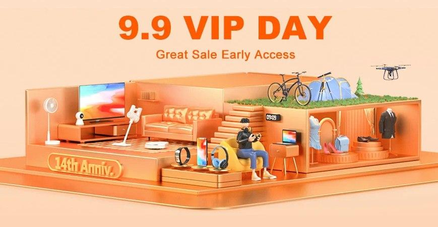 Banggood 9.9 VIP DAY tutte le offerte