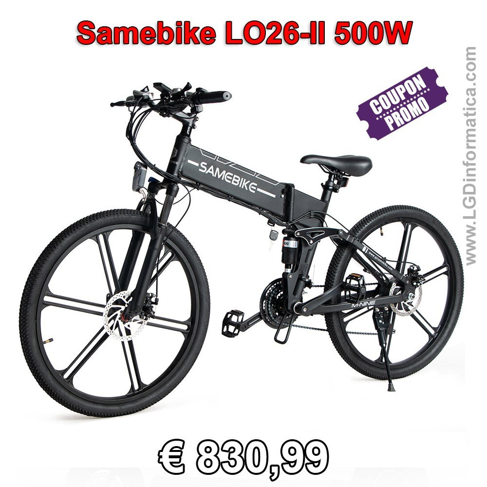 Samebike LO26-II 500W coupon